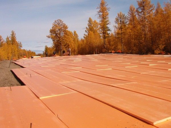 Теплоизоляционные материалы помогут противостоять разрушению дорог